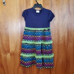 Excellent Hanna Andersson Girl Dress Sz 130